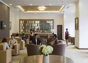 Sảnh lounge Vinhomes Nguyễn Chí Thanh
