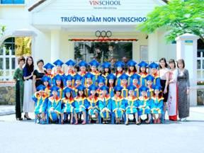 Vinschool kindergarten in Vinhomes Nguyen Chi Thanh