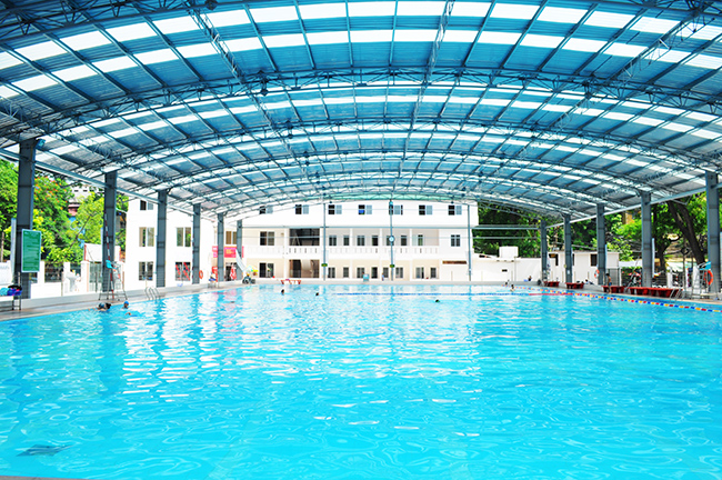 Outdoor swimming pool Vinhomes Nguyen Chi Thanh